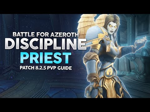 BFA | Discipline Priest PvP Guide - Burst Damage Healer