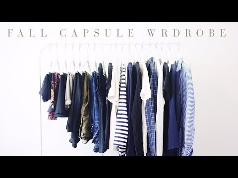 21 PIECE FALL CAPSULE WARDROBE | 2017