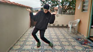 Como fazer a dança do Roy Purdy/orange Justice | tutorial