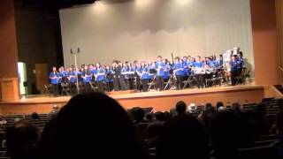 Kaimuki Middle School Symphonic Winds — 2014 OBDA Parade of Bands