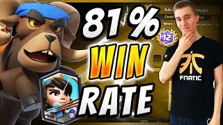 Insane! #1 Ram Rider Deck | SirTagCR - Clash Royale ▻ Subscribe to ...