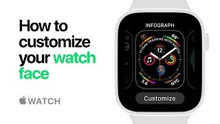 Apple Watch Series 4 — How to customize your watch face — Apple