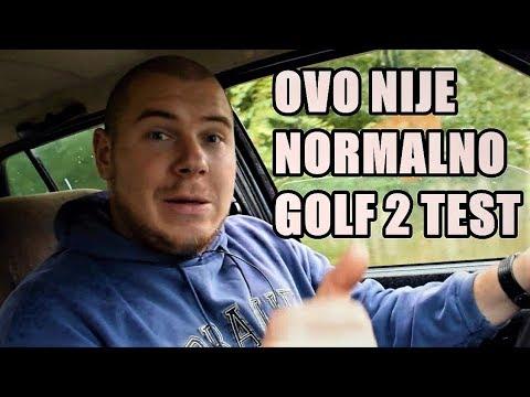 NEVEROVATAN AUTO - GOLF 2 TEST