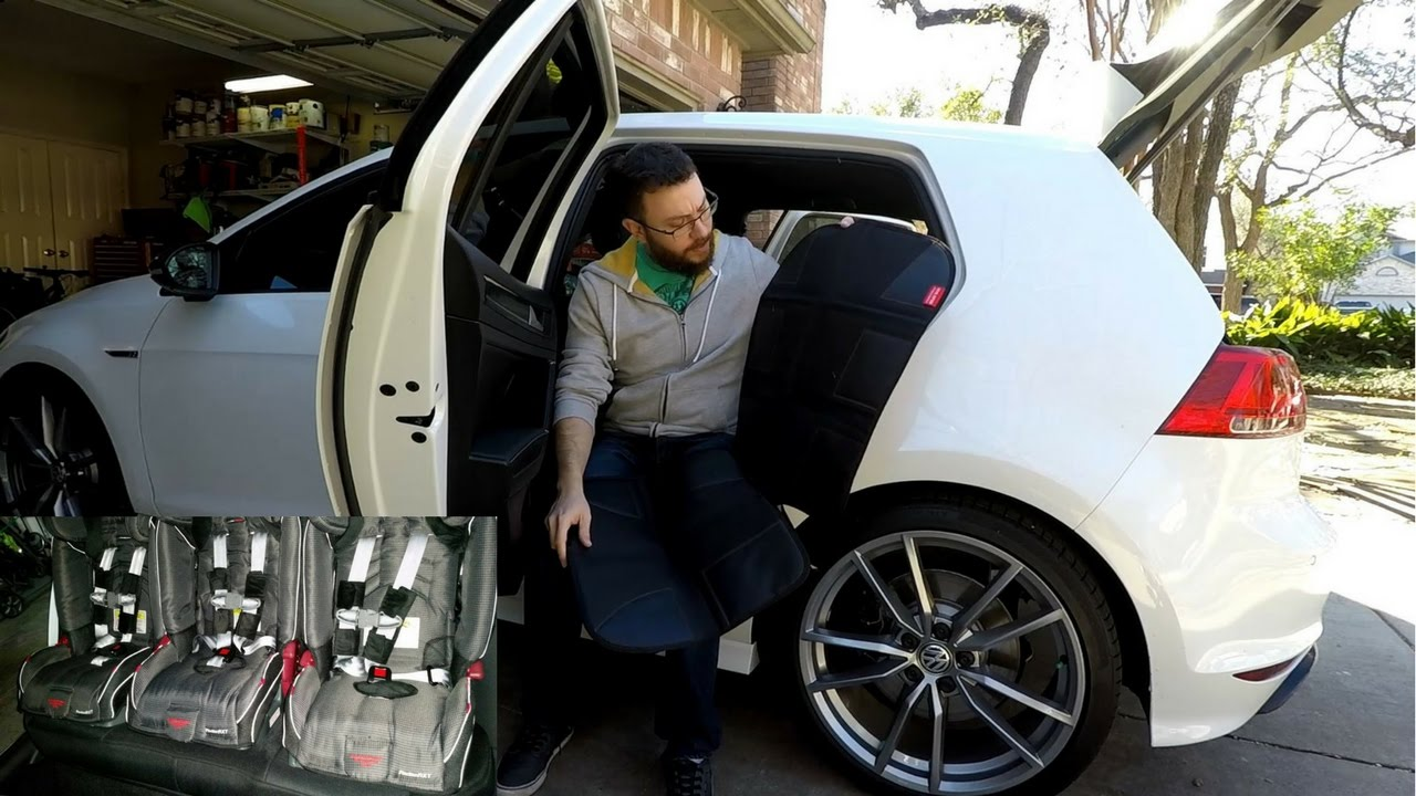 Golf R - The Ultimate Dad Mod - Car Seats! - YouTube
