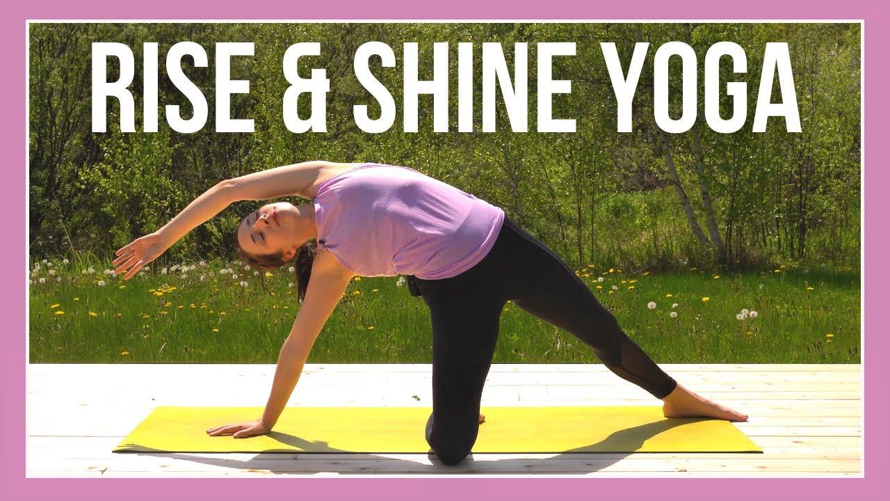 Morning Yoga for Beginners - JOYFUL MORNINGS