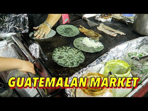 Mexican Street Food in LA ► Guatemalan Night Market