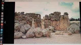 Is this the WORLD'S OLDEST 'POLYGONAL' MEGALITHIC WALL? MALTA Ġgantija