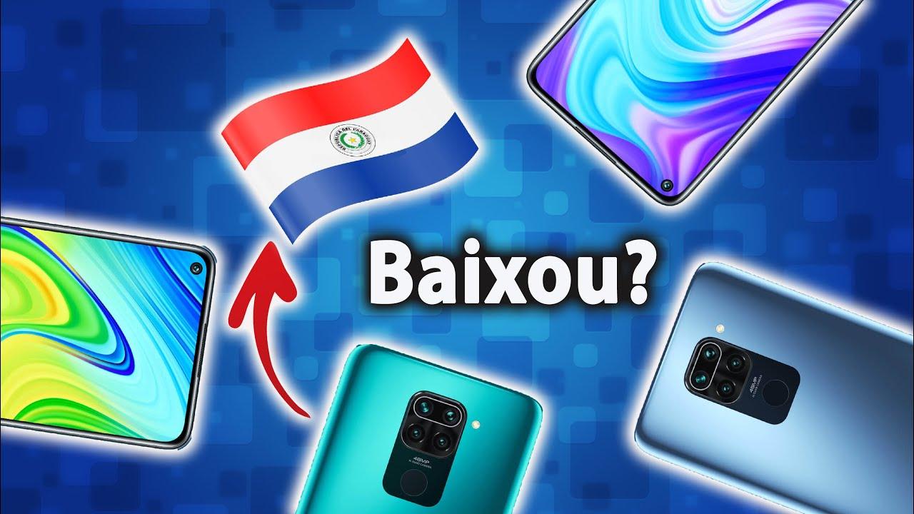Fronteira do Paraguai ABERTA   Celulares Xiaomi MAIS BARATOS no Brasil