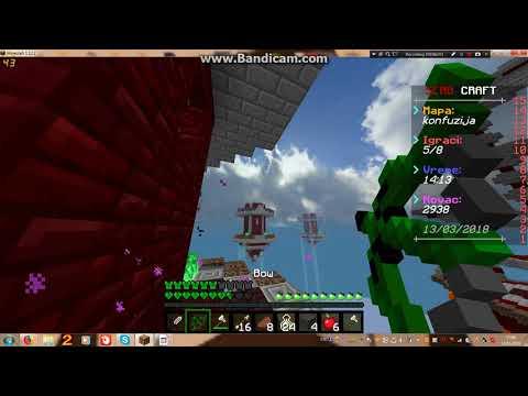 Kako sam pao kao NUB xD - Minecraft SkyWars SERB-Craft