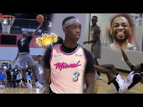 """10th Grader Zaire Wade IS """"YOUNG FLASH""""! Dwyane Wade SON Puts On A Show at E1T1 Tournament!"""