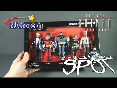 Collectible Spot - NJCroce The New Batman Adventures Bendable Figures Heroes Set