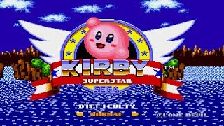 Kirby in Sonic the Hedgehog | Hack of Sonic the Hedgehog (2015)