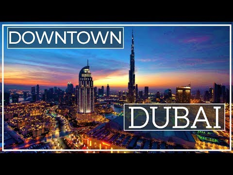 Wonderful Views of Dubai's Downtown and Its Iconic Buildings – United Arab Emirates