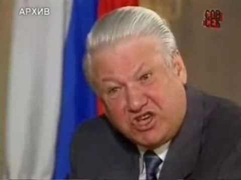 BORIS YELTSIN.  Dramatic Interview.