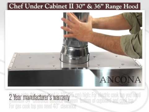 Chef Under Cabinet II - YouTube