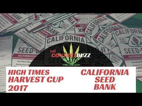 California Seed Bank - High Quality Cannabis Cultivation - High Times Harvest Cup 2017