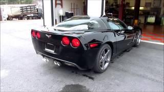 C6 Corvette :: Stock Mufflers V.S. SLP Loud Mouth Mufflers