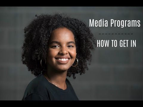 How to Get into RTA Ryerson/ Media Programs at University : Part 1