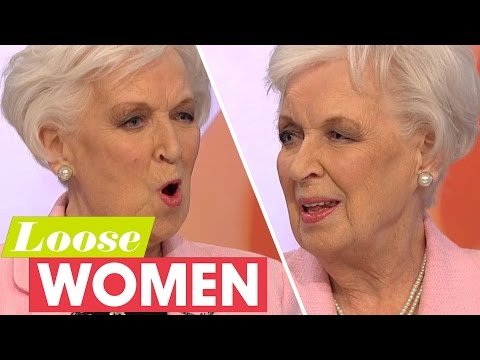 June Whitfield Is Still Absolutely Fabulous At NinetyOne Years Old!  Loose Women