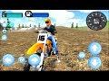 Stunt Motorbike Race 3D - Gameplay Android game - extreme stunt motorbike rider simulation