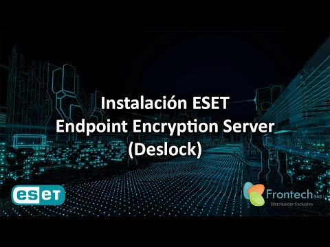 Instalación ESET Endpoint Encryption Server - Windows