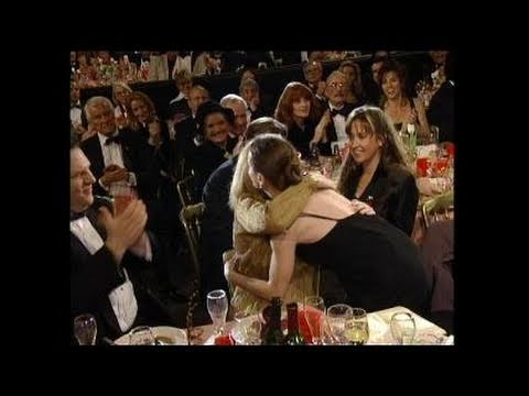 Holly Hunter Wins Best Actress Motion Picture Drama - Golden Globes 1994
