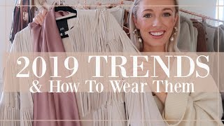 10 FASHION TRENDS FOR 2019 // Fashion Mumblr Video