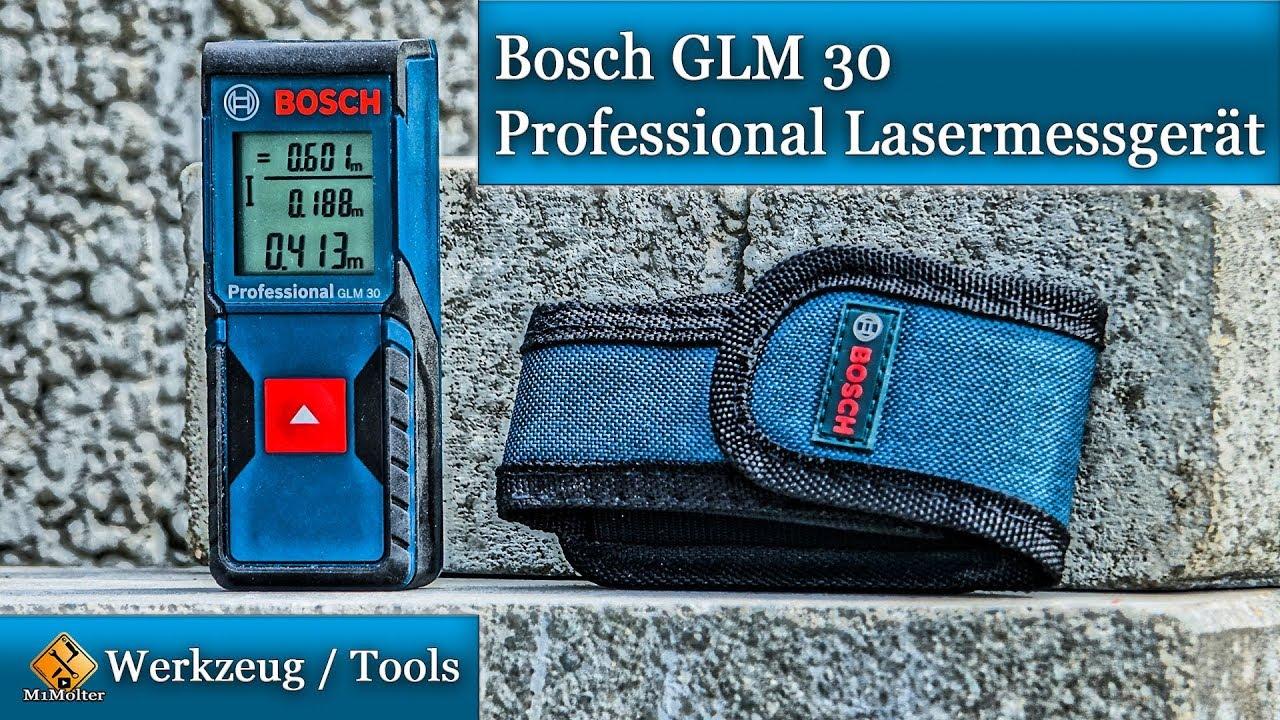 Bosch Entfernungsmesser Bedienungsanleitung : Bosch glm 30 professional lasermessgerät vorstellung und