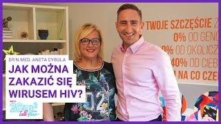 Jak można zakazić się HIV? Dr n.med. Aneta Cybula, 20m2 talk-show, teaser 340
