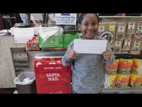 Mark - A deli owner in Texas reads & responds to kids' letters to Santa.