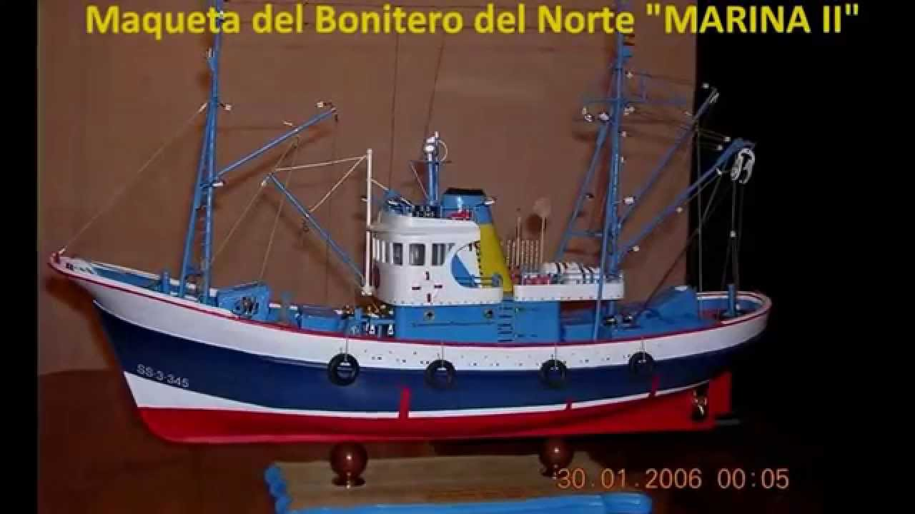 Maquetas de barcos de pesca youtube for Modelos de barcitos hecho en madera