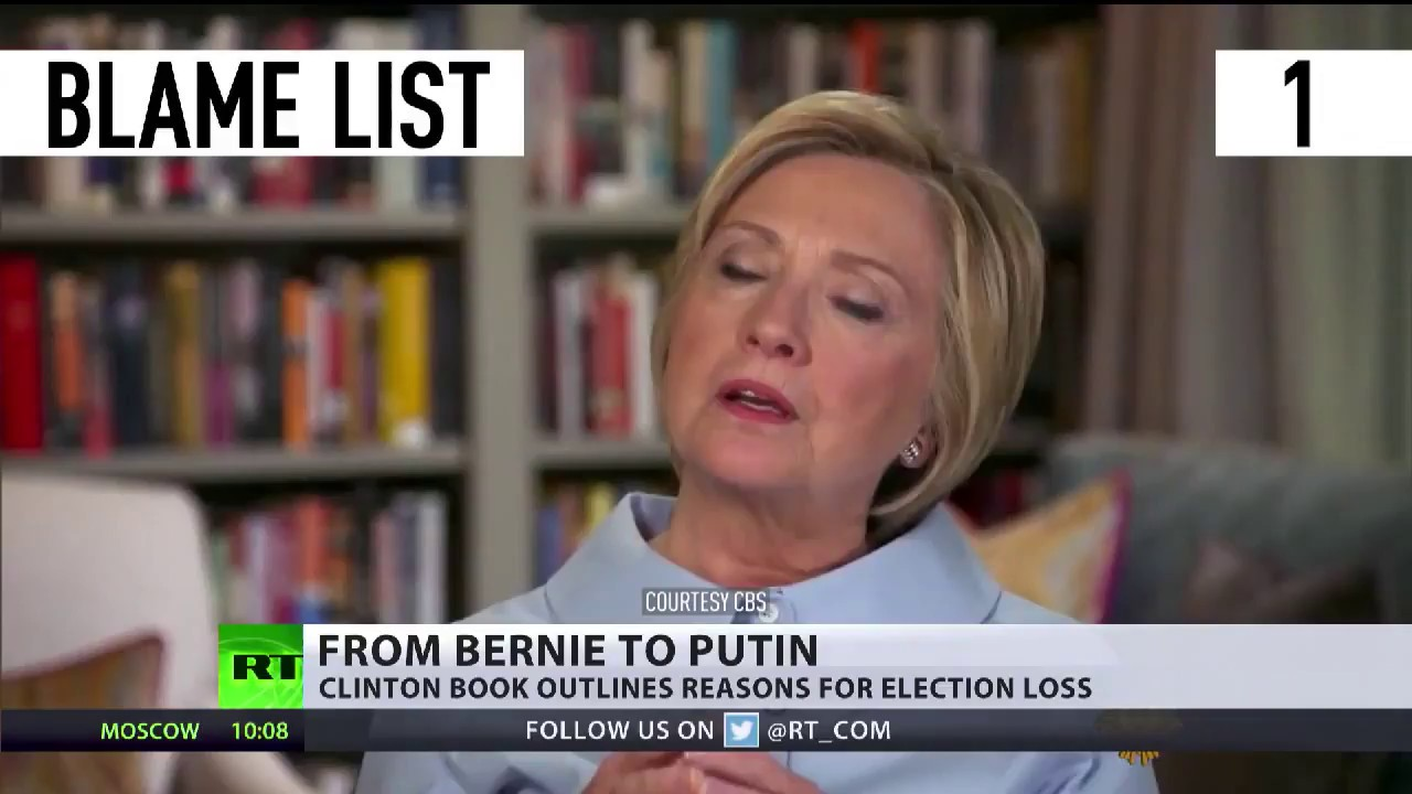 maxresdefault from bernie to putin clinton book outlines reasons for election