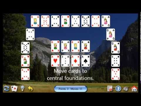 How To Play Crescent Solitaire