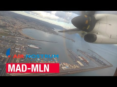Flight Report | Madrid - Melilla | Air Nostrum ATR 72-600