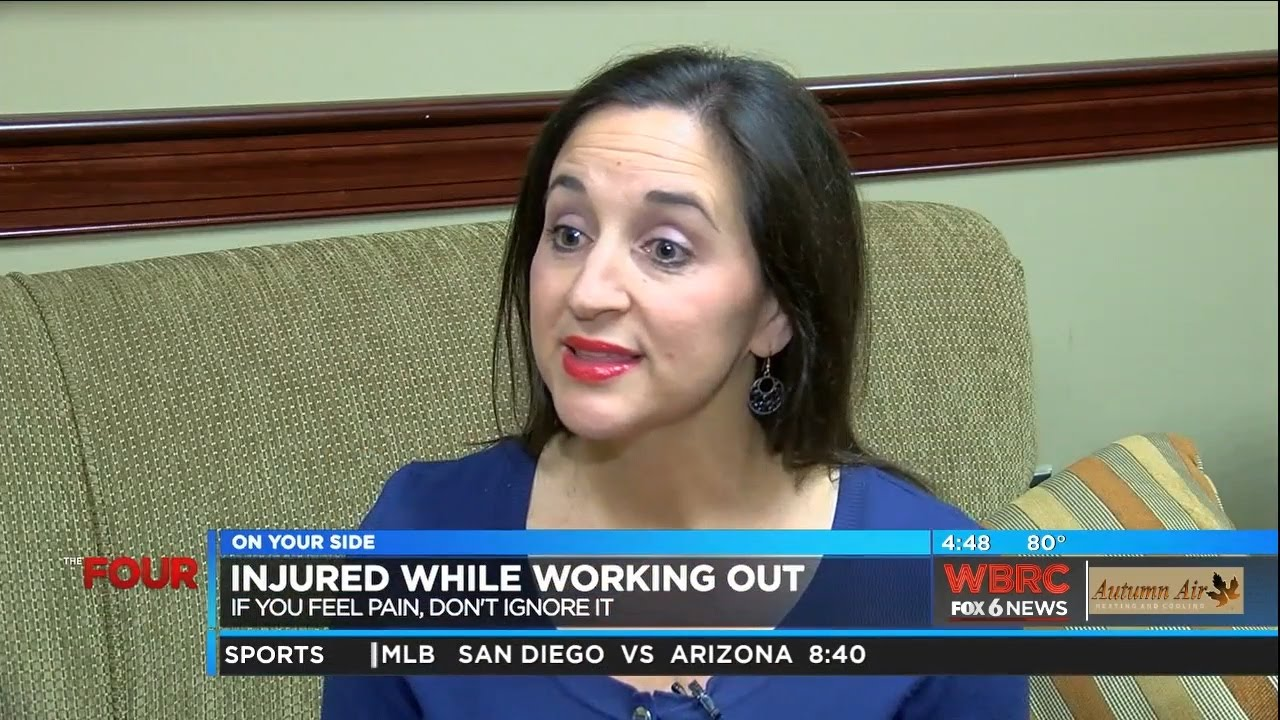 Dr  Emily Bell Casey - Injured While Working Out - WBRC FOX 6