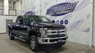 2019 Ford Super Duty F-350 SRW CrewCab Lariat W/ 6.7L Power Stroke Overview | Boundary Ford