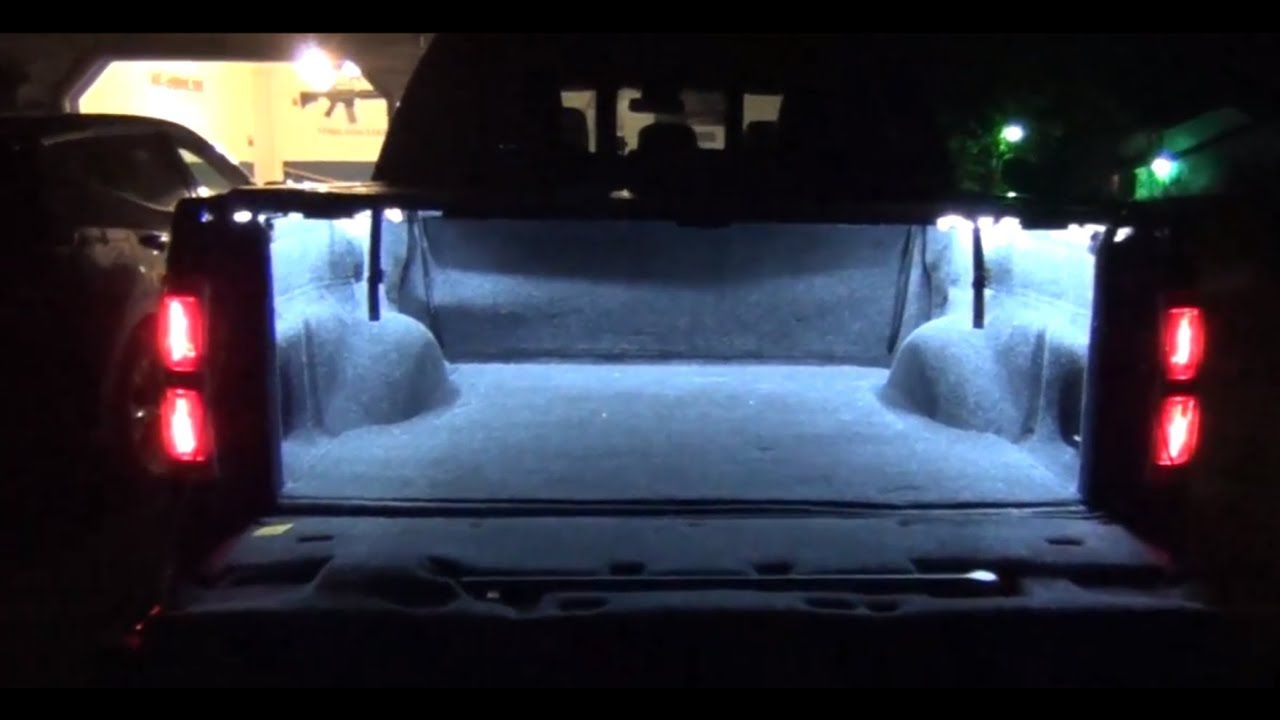 truck bed lights led strips diy how to