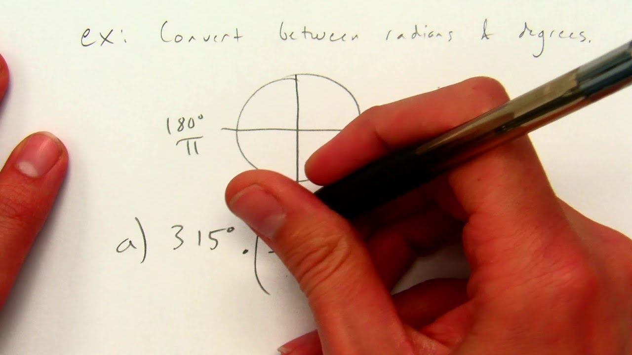 A2T 9.2: Define General Angles and Use Radian Measure ...