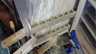 Making A Tool Cabinet - Part 7: Interior Fitting Out, Chisel Holders.