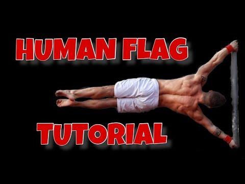 HUMAN FLAG Tutorial - Training routine (beginner)