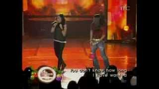 Charice and Arnel Pineda duet — 'Alone', on ASAP
