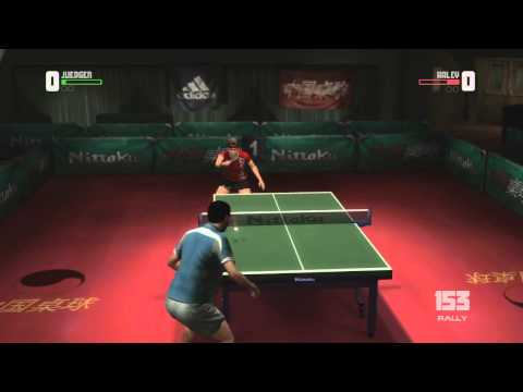 Rockstar table tennis// Legit 329 rally// xbox live// first point