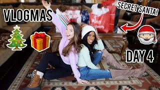 Secret santa gift exchange + My Birthday Surprise | Vlogmas day 4