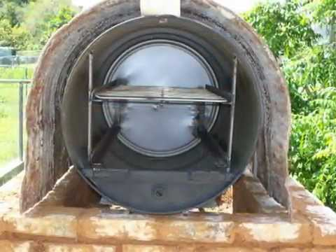 Horno chileno con tambor youtube - Materiales para hacer un horno de lena ...