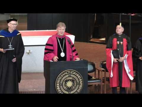 Saint John's University All-College Convocation 2016