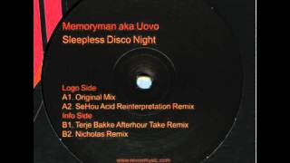 memoryman aka uovo - sleepless disco night (terje bakke afterhour take remix)