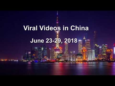 Viral Videos in China, June 23-29, 2018