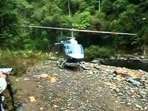 Belize Jungle Expedition Helicopter drop off