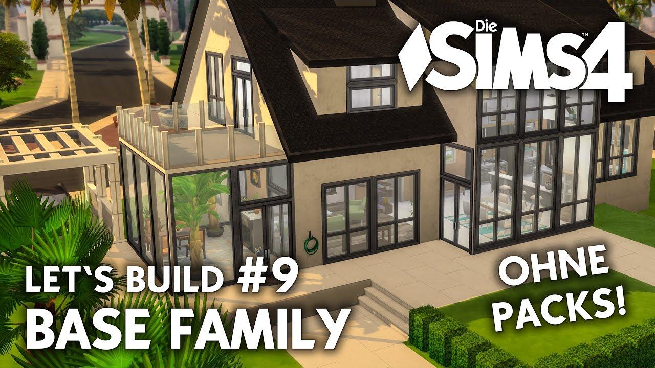 Die Sims 4 Haus bauen ohne Packs | Base Family #9: Wintergarten ...