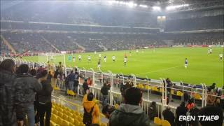 Fenerbahçe 1 - 1 Krasnodar Avrupa Ligi 22.02.2017 (VLOG) - Eken H9 4K Cam